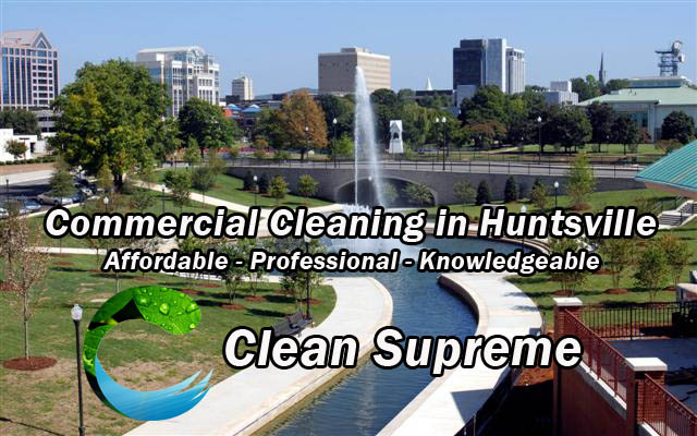 Commercial Cleaning in Huntsville