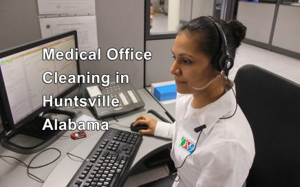 medical office cleaning in Huntsville