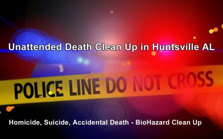 Unattended Death Clean Up in Huntsville AL
