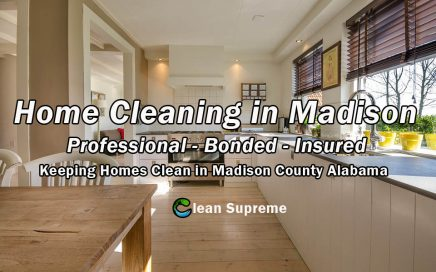 Home Cleaning in Madison County Alabama