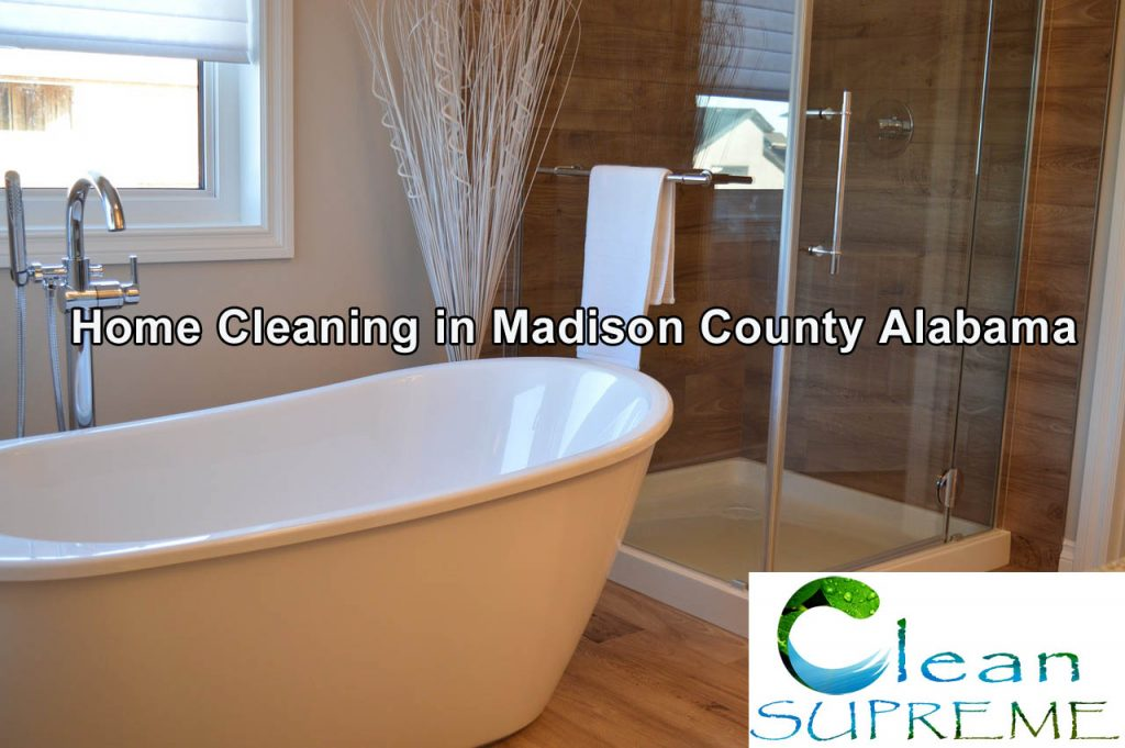 Home Cleaning in Madison County Alabama - Bathrooms are our specialty