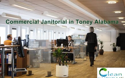 Commercial Janitorial in Toney Alabama