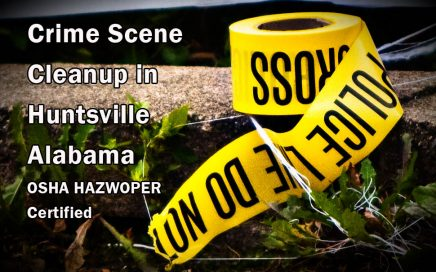 Crime Scene Cleanup in Huntsville Alabama