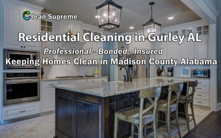 Residential Cleaning in Gurley AL