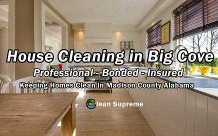 House Cleaning in Big Cove Alabama