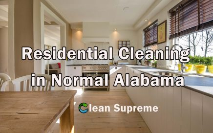 Residential Cleaning in Normal Alabama