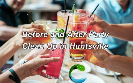 Before and After Party Clean Up in Huntsville