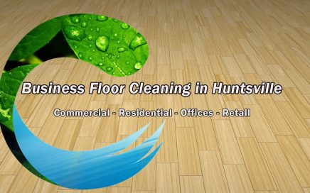 Business Floor Cleaning in Huntsville