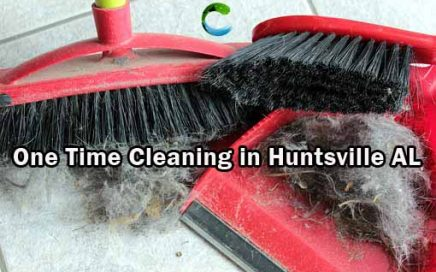 One Time Cleaning in Huntsville AL