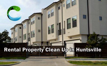 Rental Property Clean Up in Huntsville
