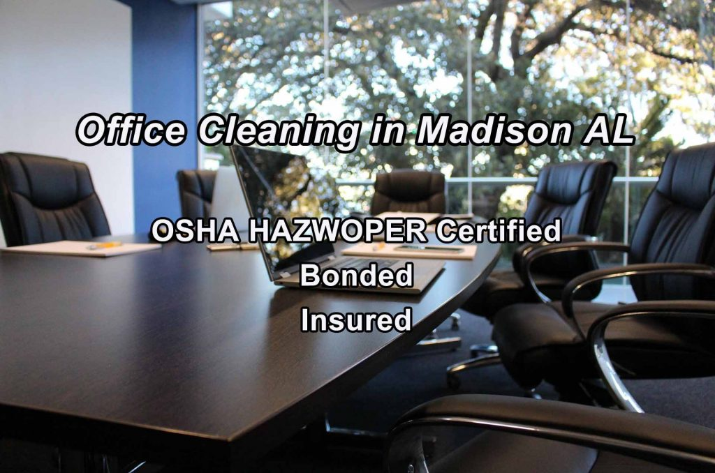Commercial Office Cleaning in Madison AL
