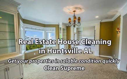 Real Estate House Cleaning in Huntsville