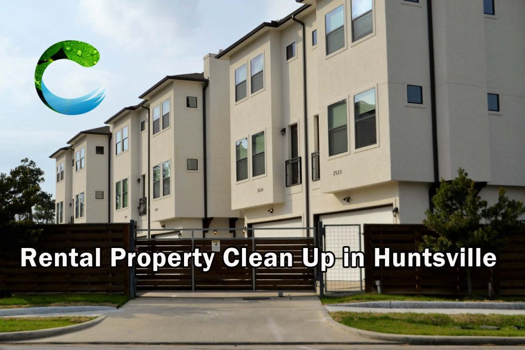 Rental Property Cleaning in Huntsville AL - fast apartment cleaning