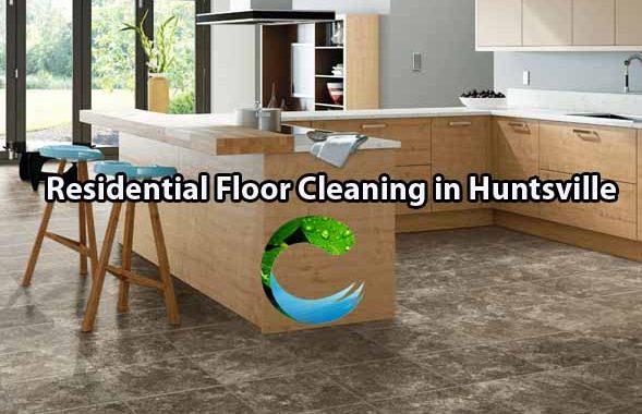 Residential Floor Cleaning in Huntsville