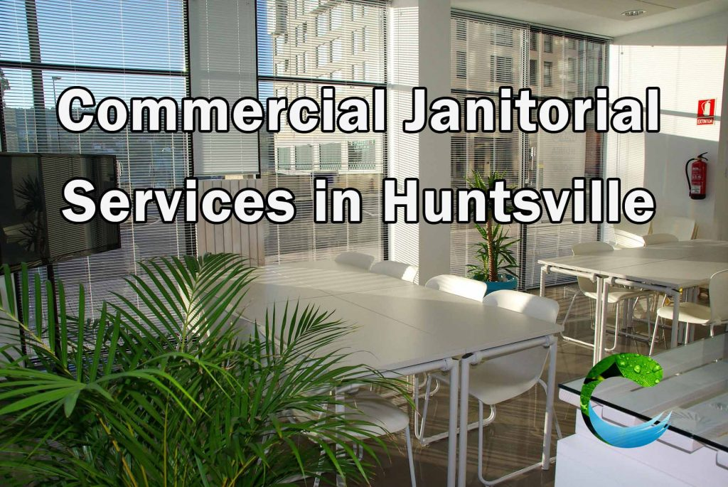 Commercial Janitor Service Huntsville - office