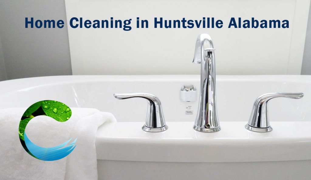 Home Cleaning Services in Huntsville AL Bathrooms a specialty