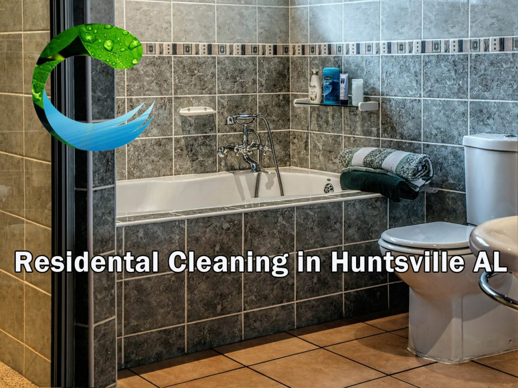 Huntsville Residential Cleaning - Clean Bathrooms  - Clean Bathrooms