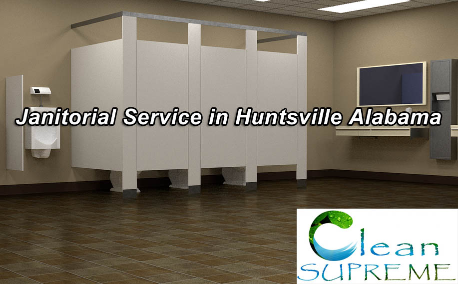 Commercial Janitorial Services - Huntsville - Restroom cleaning is our specialty