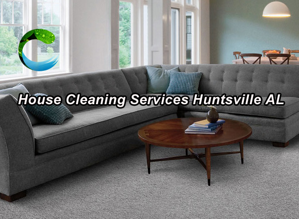 House Cleaning Service - Huntsville AL - Living Area and Bedrooms