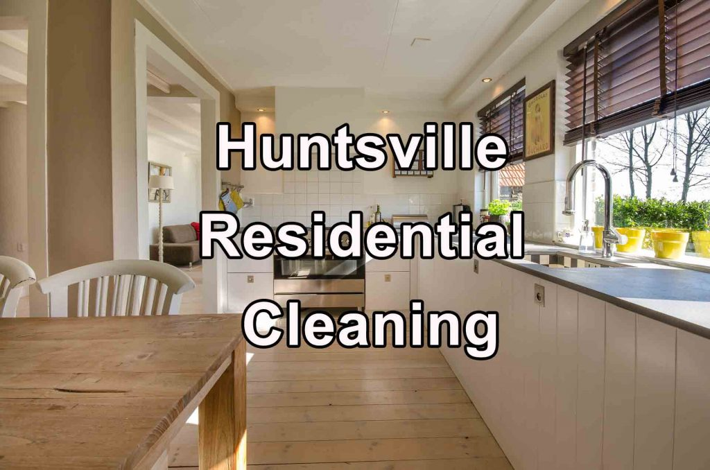 House Cleaning Service - Huntsville AL - Kitchen