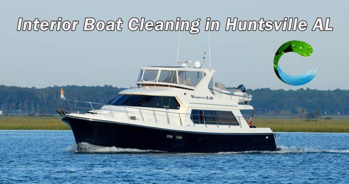 Interior Boat Cleaning in Huntsville AL 1