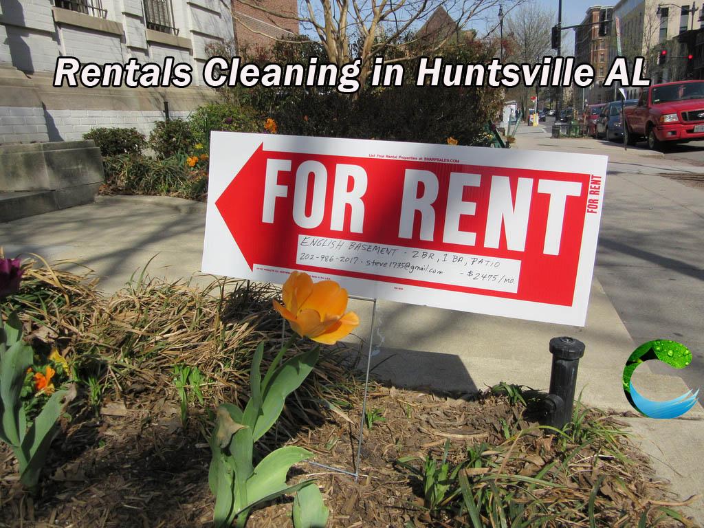 Rentals Cleaning in Huntsville AL