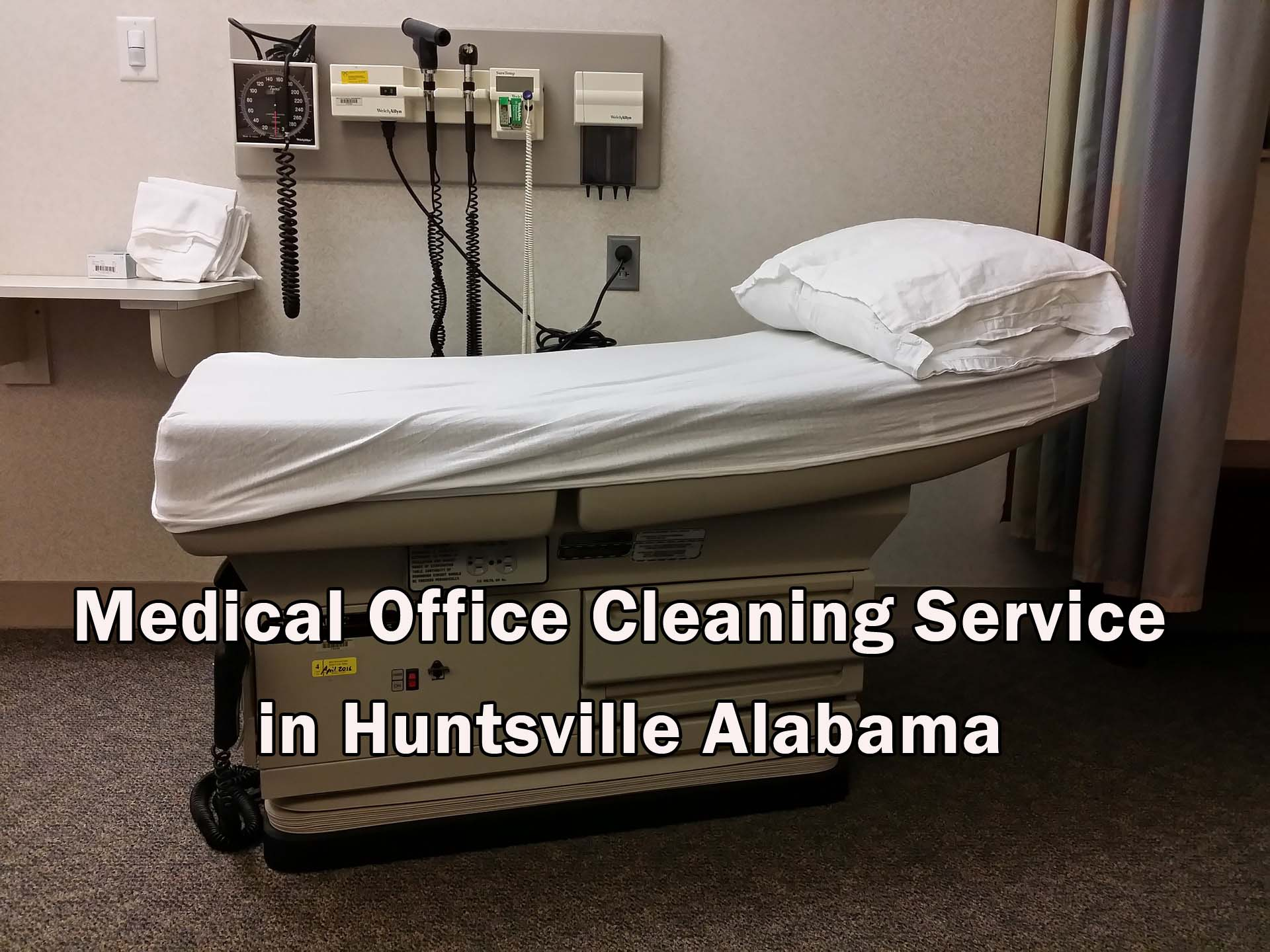 Medical Facility Janitorial Cleaning in Huntsville Alabama