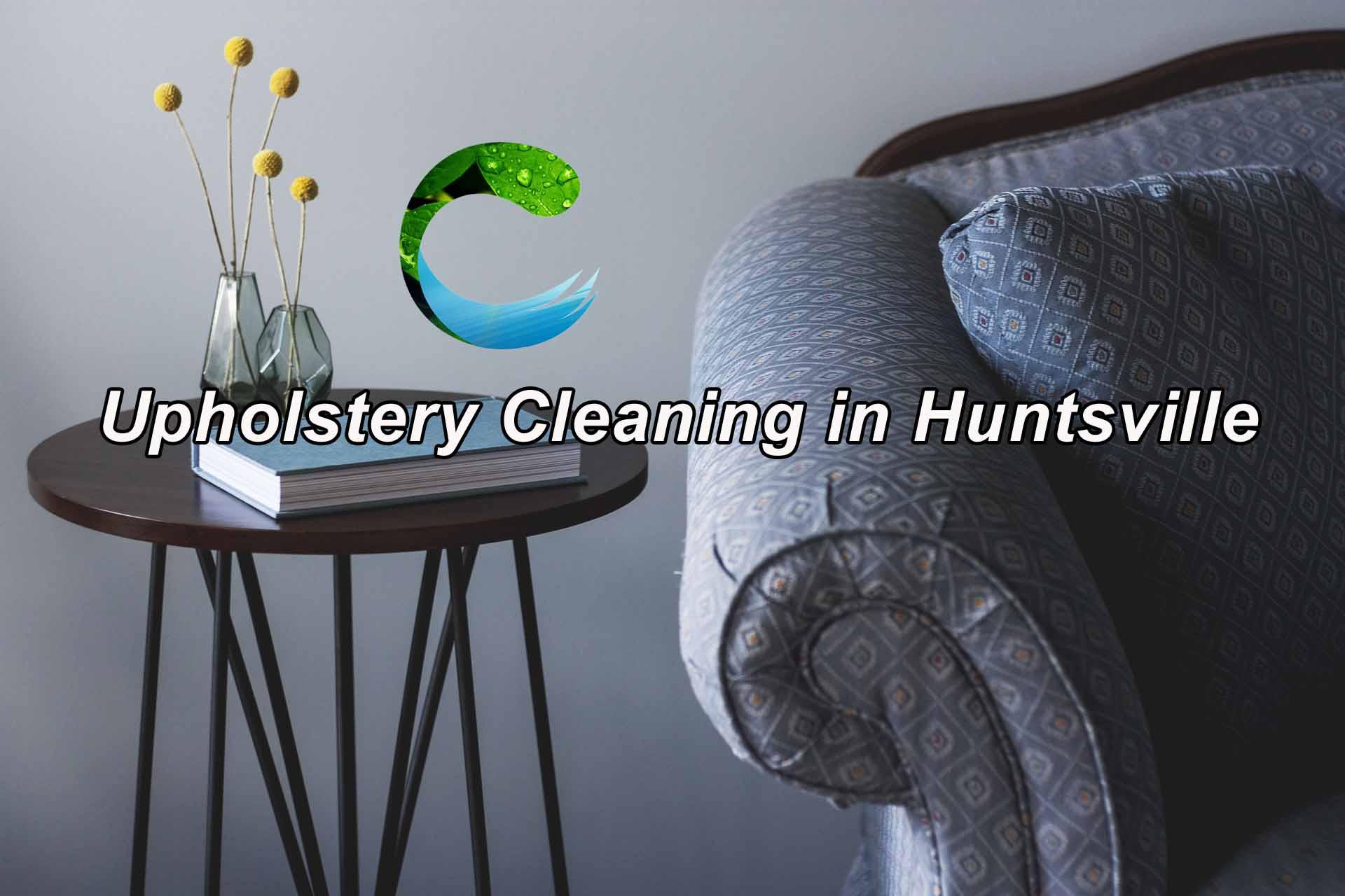 Upholstery Cleaning in Huntsville AL