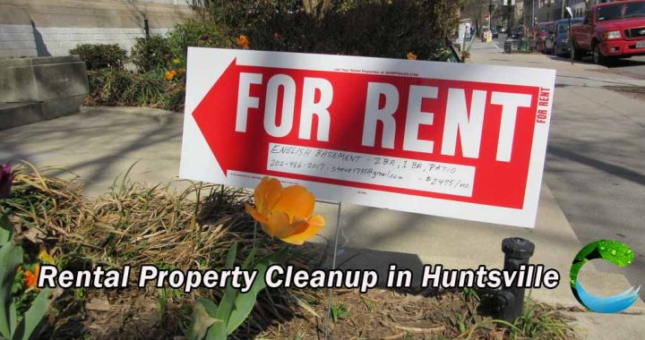 Rental Property Cleanup in Huntsville
