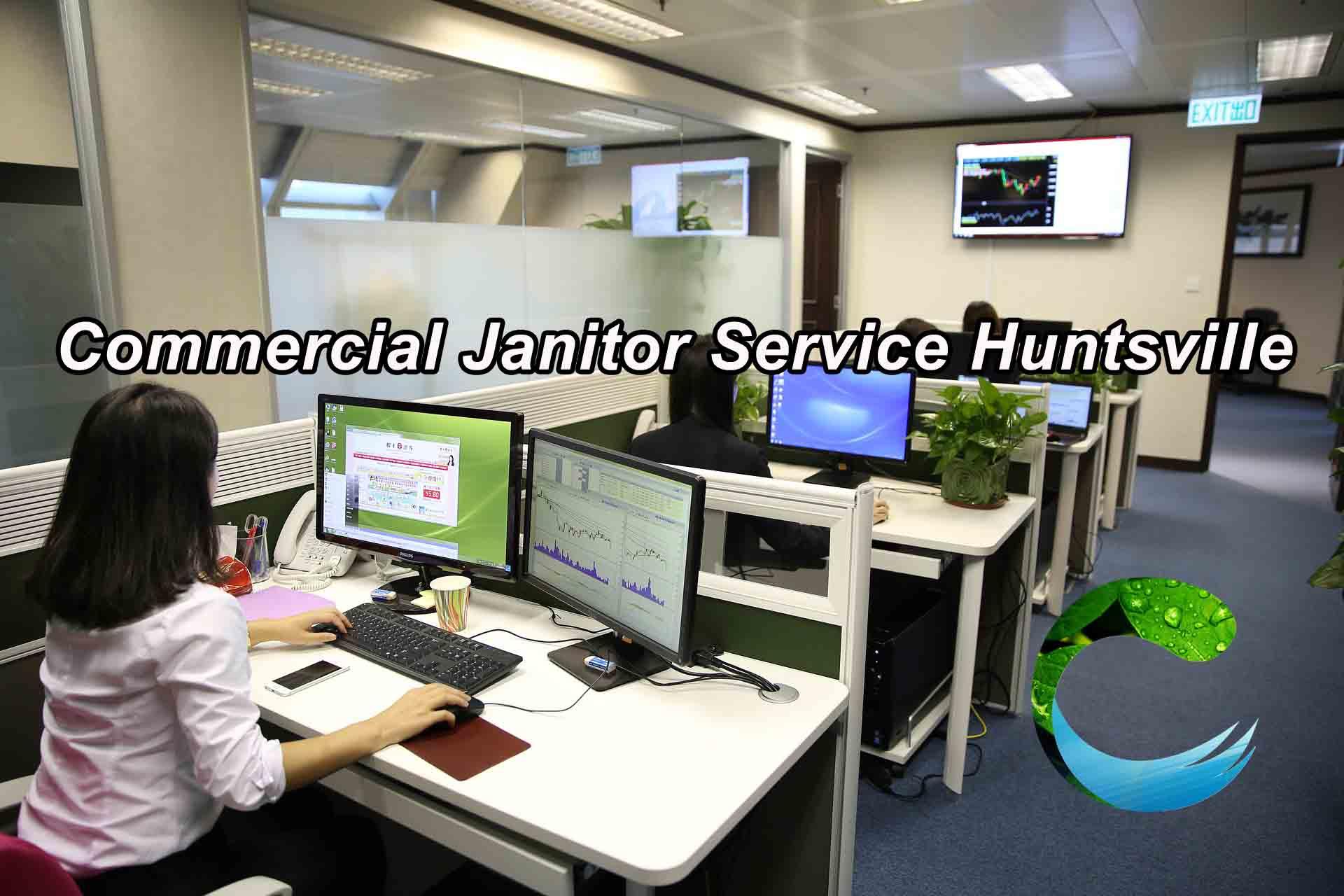 Commercial Janitor Service Huntsville