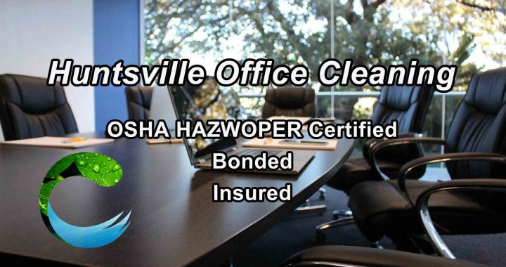 Huntsville Office Cleaning