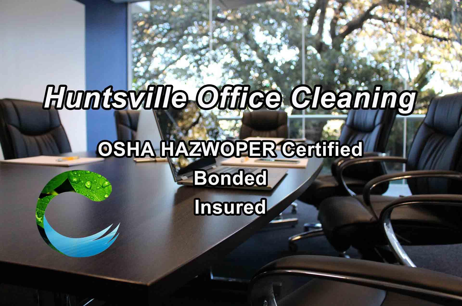 Huntsville Office Cleaning